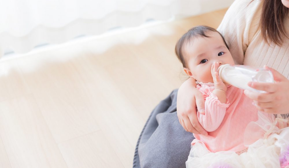 哺乳瓶は乳首の交換不要なタイプが便利