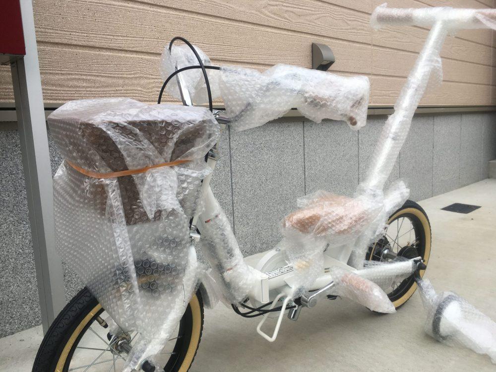 仰々しく届いて娘大喜び!ピープルいきなり自転車【購入者口コミ】