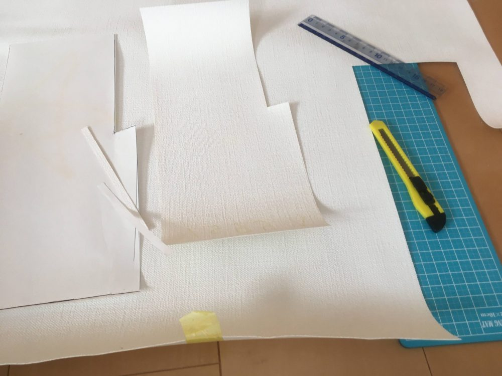 壁紙張り替えが上手にいった今回の方法