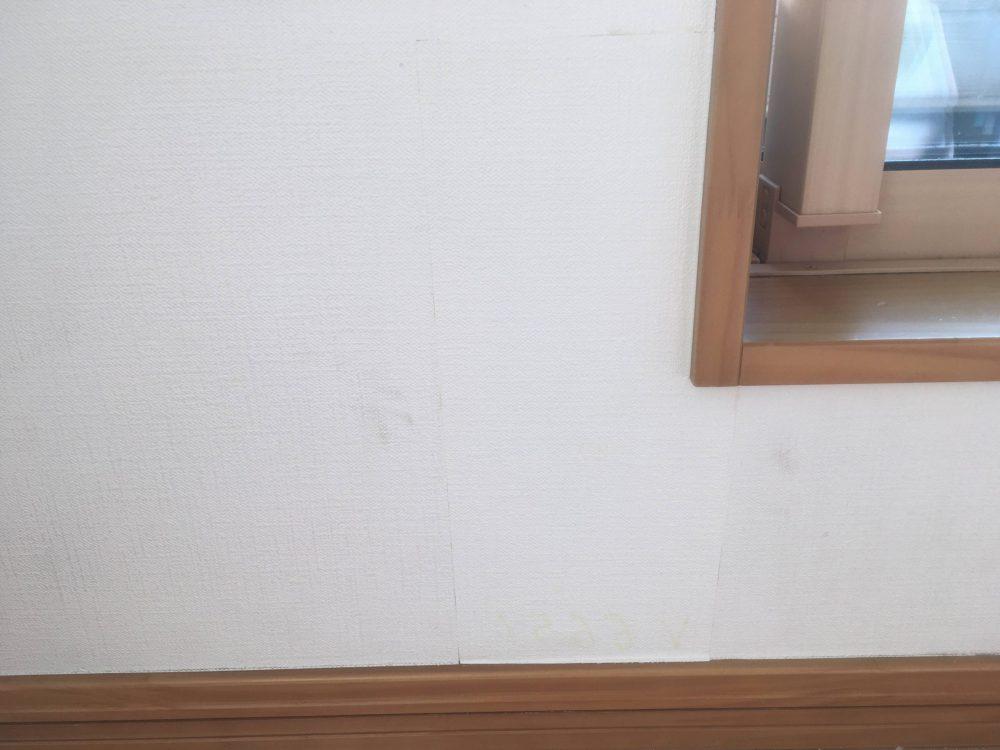 壁紙張り替え2回目のDIYの結果