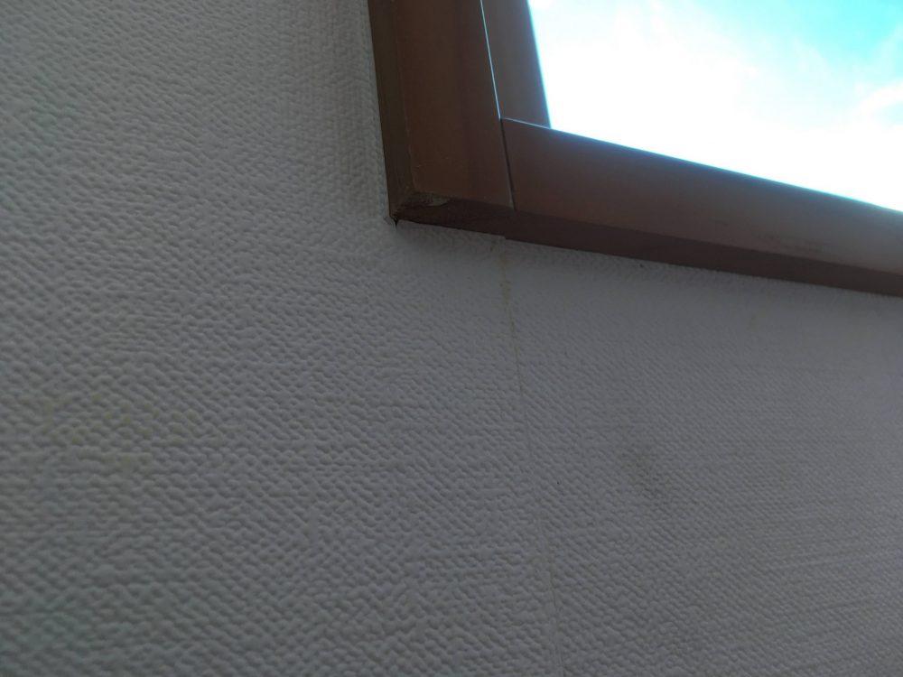 壁紙張り替え2回目のDIYの結果 角